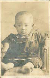 誕生の頃の写真