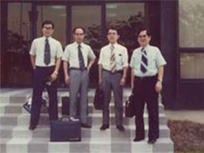 電子機器部品メーカーM社のシンガポール支社へ出かけた際の一枚